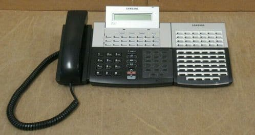 Samsung DS-5038S Telephone + DS-5021D KDB-D, DS-5064B AOM 64 Button Console