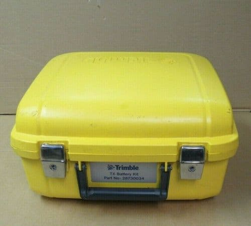 Trimble TX Battery Kit 28730034 Total Station Surveying Hard Carry Case Only