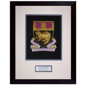 LSE Hand Embroidered Commemorative Plaque
