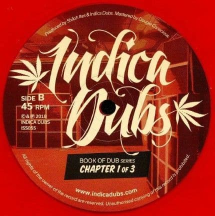 """Indica Dubs Meets Shiloh Ites  Book Of Dub Series Chapter 1 of 3 12"""" Indica Dubs"""