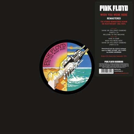Pink Floyd  Wish You Were Here LP Pink Floyd Records