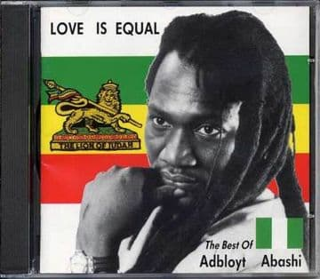 Adbloyt Abashi - Love Is Equal CD NS Records NEW