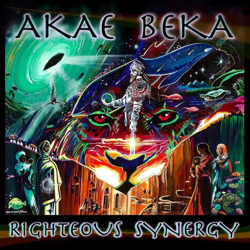 Akae Beka - Righteous Synergy LP Fifth Son Records TRS