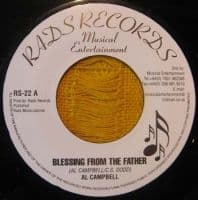 """Al Campbell - Blessing From The Father / Version 7"""" New RADS Reissue"""
