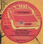 "Al Campbell - Monkey Sample / Jungle Mouth Dub / Linval Thompson - Halla Them A Halla / Dub 12"" TAXI"