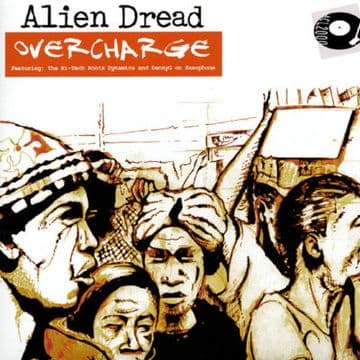 "Alien Dread - Overcharge Martin Campbell 10"" DUB Log On"