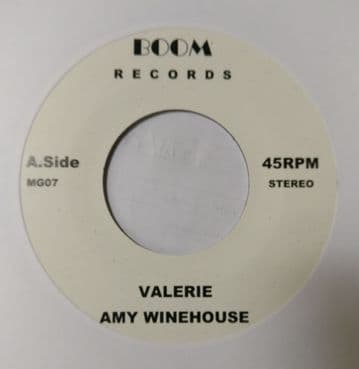 """Amy Winehouse - Valerie / You Are Wondering Now 7"""" Boom"""