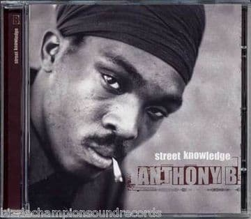 Anthony B - Street Knowledge CD CLASSIC CONSCIOUS VIBES