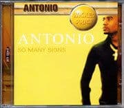 Antonio - So Many Signs CD Jet Star Roots Lovers
