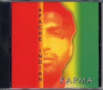 Apache Indian - Karma CD Sunset Records New 2000