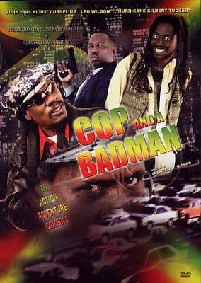 Cop And The Badman DVD NEW Jamaican Movie Comedy Action