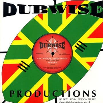 "Daddy Freddy - Can't Stop We / Dub 10"" NEW Disciples"