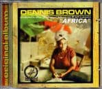 Dennis Brown - Africa CD Indelebyl Records NEW Niney