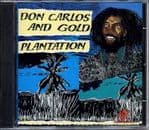 Don Carlos - Plantation (With Gold) CD ROOTS REGGAE