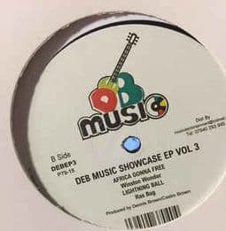 Earl Cunningham / Jah Thomas ‎– DEB Music Showcase EP Vol 3 Vinyl
