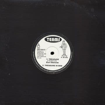 "Earl Sixteen - Treasure / Dub / Castro Levi - Lilly Of My Valley / Dub 10"" TEAMS"