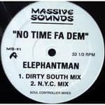 "Elephant Man No Time Fa Dem 12"" 2003 Sealed Dancehall"