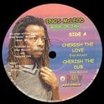 "Enos McLeod - Cherish The Love / Dub / Fire Below / Fiery Dub 12"" Orbit 2012"