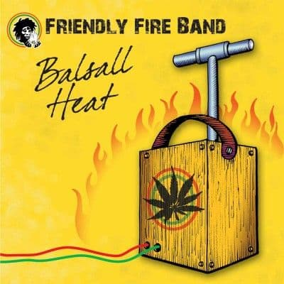Friendly Fire Band - Balsall Heat CD Friendly Fire NEW 2013