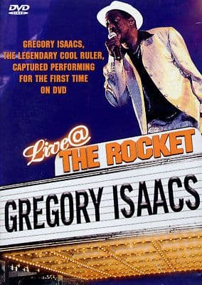 Gregory Isaacs - Live At The Rocket DVD JET STAR NEW