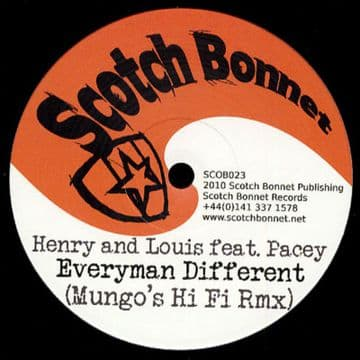 "Henry Louis & Pacey - Everyman Different 12"" Mungo's Hi"