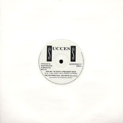 """Heptones - Give Me The Right / Joe White - President Rock / Shorty 10"""" Success"""