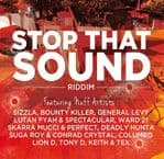 Irie Ites - Stop That Sound Riddim CD Sizzla Bounty Killer Lutan Fyah Spectacular Keith & Tex Stop That Train