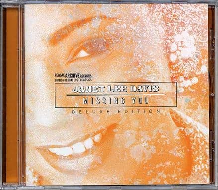Janet Lee Davis - Missing You - Deluxe Edition CD Reggae Archive Records