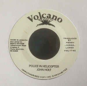 John Holt - Police In Helicopter / Dub 7