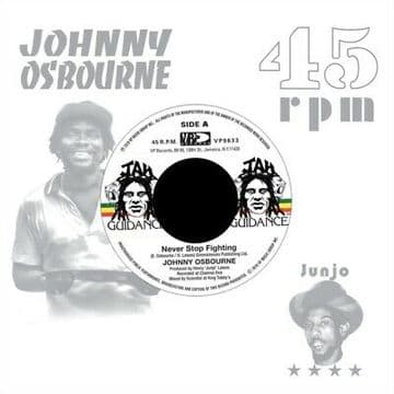 """Johnny Osbourne - In Your Eyes / Roots Radics - Dangerous Match Four 7"""" VP Records"""
