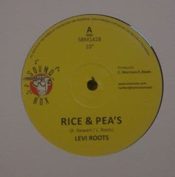 "Levi Roots - Rice & Pea's / Terror-Mass-U-Dub-Mix 1 / Dub Mix 2 10"" Sound Box"