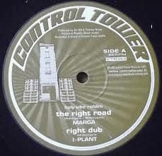 "Marga - The Right Road / I-Plant  Right Dub / I-PLant Riddim Section - Ruff Dub / Melodica Cut 10"" Control Tower"