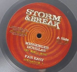 "Messenger Douglas - One Man's Work / Far East - Revelation 5 / Hatman - African Dub / Dub Tribe 10"" Storm & Break"