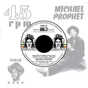 """Michael Prophet - Hold On To What You've Got / Roots Radics - Cry Of The Werewolf  7"""" VP Records"""