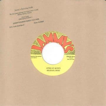 """Michael Rose - African Queen / African Queen Dub 7"""" Jammys Dub Store Records"""