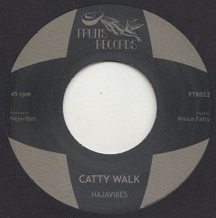 """Najavibes - Catty Walk / Insecurity 7"""" Fruits Records"""