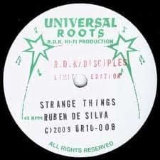 "Ruben De Silva - Strange Things 10"" Disciples Dub"