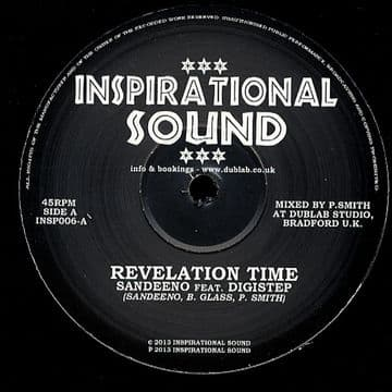 "Sandeno - Revelation Time / Digistep - Revelation Horns / Revelation Dub 10"" Inspirational Sound"