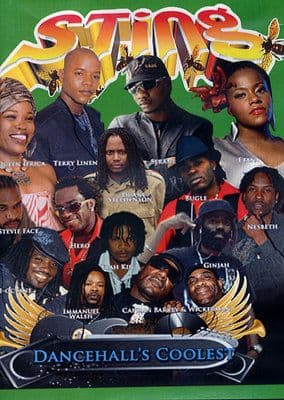 Sting - Dancehall's Coolest - Queen Ifrica Terry Linen Duane Stephenson DVD NEW