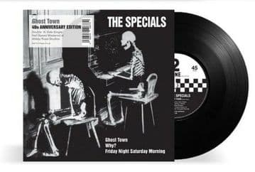 """The Specials - Ghost Town 7"""" 40th Anniversary Half Speed Master"""
