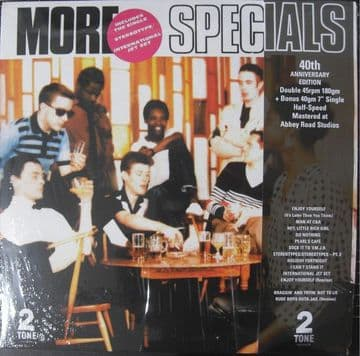 """The Specials - More Specials 2LP + 7"""" Single Two-Tone Records Half Speed Master"""