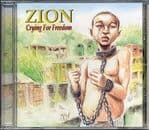 Zion - Crying For Freedom CD Skank Records ROOTS  NEW RELEASE 2011 SEALED