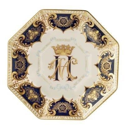 Royal Crown Derby, Harry & Meghan-A Royal Wedding Octagonal Plate - (limited edition of 1,500)