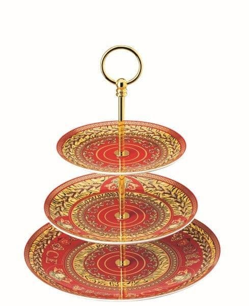 Versace Virtus Holiday Cake Stand