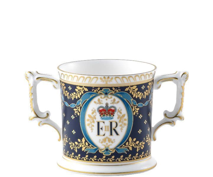 Royal Crown Derby H.M. Queen Elizabeth II 95th Loving Cup