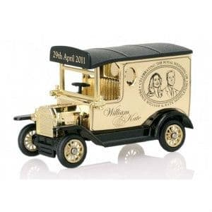 THE ROYAL WEDDING COLLECTION  DUKE AND DUCHESS OF CAMBRIDGE Ford Model T (William and Kate) Diecast Model Car by Corgi