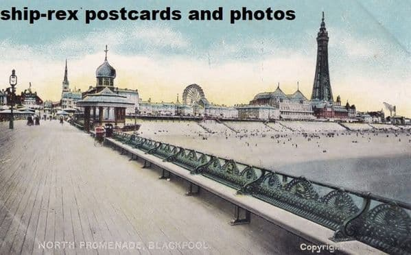 Blackpool (Lancs) North Pier~c1b