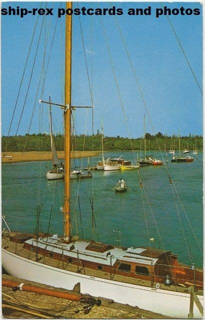 Bucklers Hard (Hampshire) postcard (a)