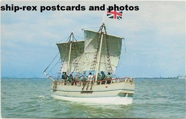 DISCOVERY II (Jamestown, replica) postcard