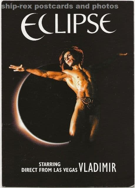 Eclipse starring Vladimir, postcard